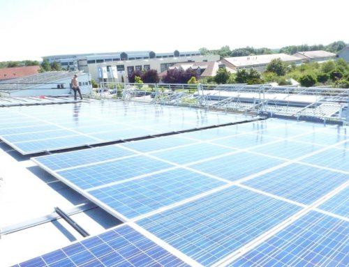 Photovoltaikanlage Gewerbe in St. Leon Rot