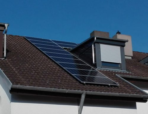 Photovoltaikanlage Einfamilienhaus in Karlsruhe
