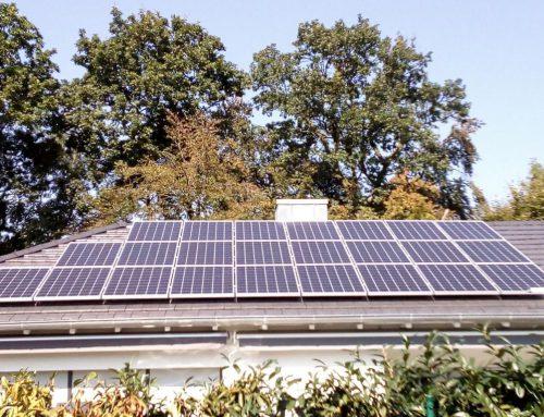 Photovoltaikanlage Einfamilienhaus in Wörth