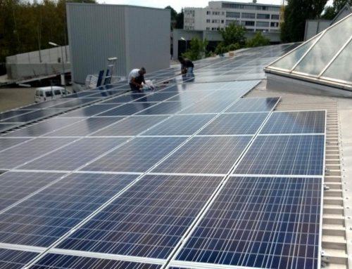 Photovoltaikanlage Gewerbe in Karlsruhe