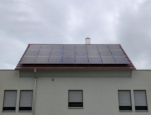 Photovoltaikanlage Einfamilienhaus in Waghäusel
