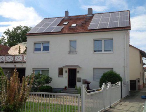 Photovoltaikanlage Einfamilienhaus in Dettenheim