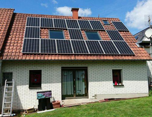 Photovoltaikanlage Einfamilienhaus in Busenberg