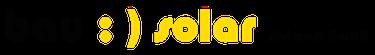 bau:-)solar südwest GmbH Logo