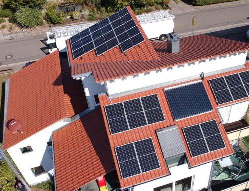 Photovoltaikanlage Einfamilienhaus in Billigheim-Ingenehim